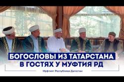 Embedded thumbnail for Богословы из Татарстана посетили Муфтия Дагестана