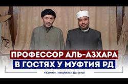 Embedded thumbnail for Профессор Аль-Азхара посетил Муфтия Дагестана