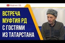 Embedded thumbnail for Муфтий Дагестана встретился с гостями из Татарстана