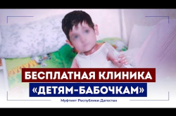 """Embedded thumbnail for Бесплатная клиника для """"детей-бабочек"""" открылась в Дагестане"""
