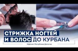Embedded thumbnail for Можно ли стричь ногти и волосы до Курбана (жертвоприношения)?