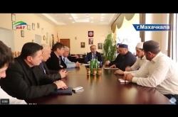 Embedded thumbnail for Ахмад Кахаев встретился с ректором ДГМУ
