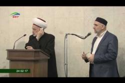 Embedded thumbnail for Пятничная проповедь Хусамуддина Мухаммад Салих аль Фарфур