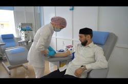 Embedded thumbnail for СДАЧА КРОВИ | Сотрудники Муфтията Дагестана стали донорами