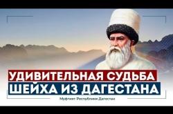 Embedded thumbnail for УДИВИТЕЛЬНАЯ СУДЬБА ШЕЙХА ИЗ ДАГЕСТАНА