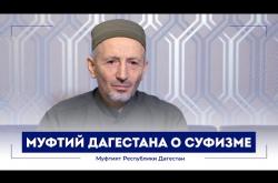 Embedded thumbnail for Муфтий Дагестана Шейх Ахмад Афанди о суфизме