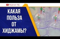 Embedded thumbnail for КАКАЯ ПОЛЬЗА ОТ КРОВОПУСКАНИЯ (ХИДЖАМА)?