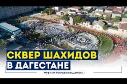 Embedded thumbnail for В ДАГЕСТАНЕ ОТКРЫЛИ СКВЕР ПАМЯТИ ШАХИДОВ